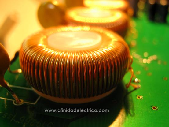 Inductor toroidal.