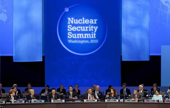 Nuclear Security Summit - Washington 2010