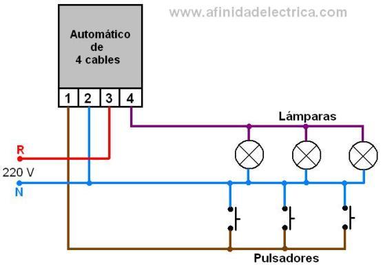 Afinidad el ctrica - Como conectar un sensor de movimiento de tres cables ...