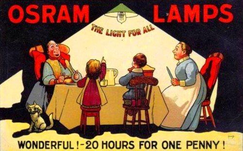 Cuando Thomas Alva Edison comenzó a comercializar sus lámparas,  su idea era conseguir un modelo capaz de iluminar durante el mayor tiempo posible.