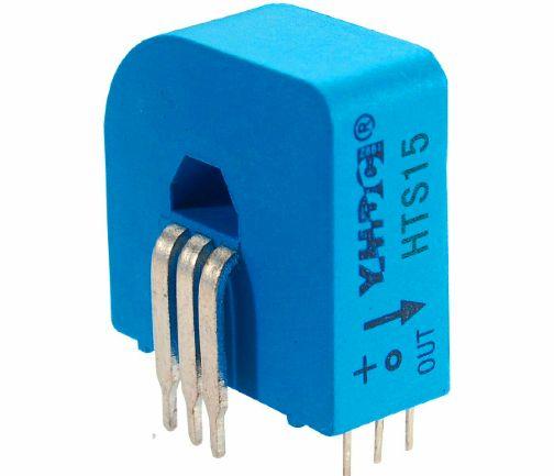 El sensor de Efecto Hall tiene una excelente respuesta a la frecuencia y está capacitado para medir corrientes muy altas.
