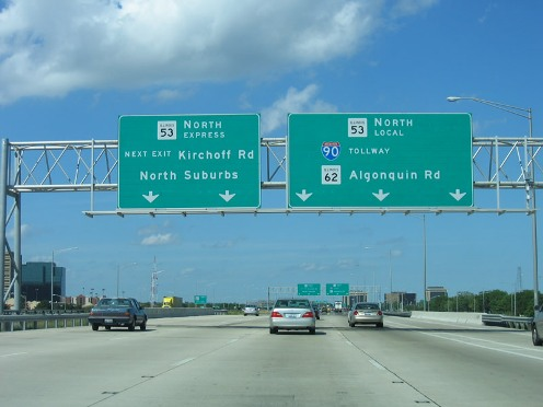 Interstate 290 Illinois – Kirchoff Rd.