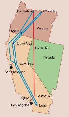 Fig.5 - La Interconexión NO – SE del Pacífico