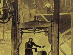 La historia del ascensor.