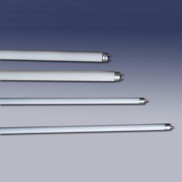 El cuerpo o tubo de descarga de las lámparas fluorescentes se fabrica de vidrio, con diferentes longitudes y diámetros.