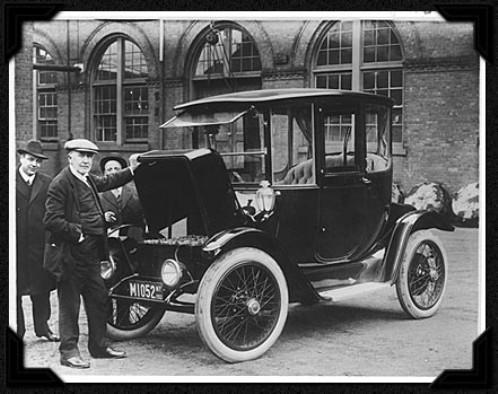 Los automóviles eléctricos no son cosa del futuro, sino más bien del pasado.