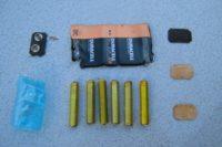Disección de una batería de 9 Volt
