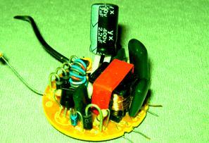Disección de una lámpara de bajo consumo CFL