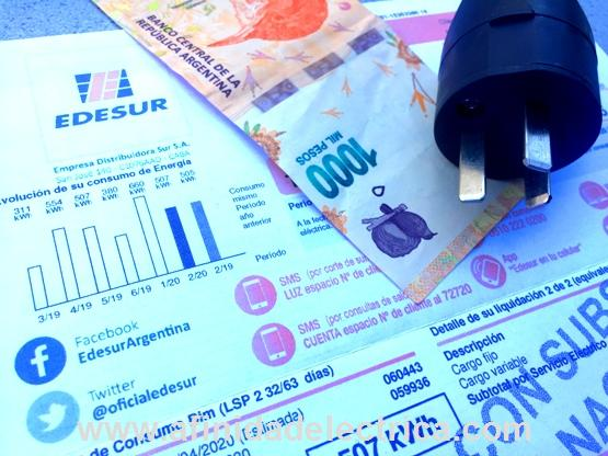 A continuación explicaremos los detalles de las facturas de las tarifas 1, 2 y 3 utilizando como ejemplos las de Edesur y Edenor de Buenos Aires, Argentina.