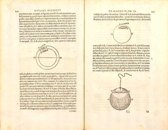 Descubrió la imantación por influencia, y observó que la imantación del hierro se pierde cuando se calienta al rojo. Estudió la inclinación de una aguja magnética concluyendo que la Tierra se comporta como un gran imán.