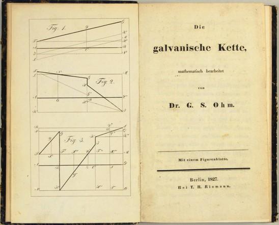 Georg Simon Ohm nació el 16 de marzo de 1789 en Erlangen (actual Alemania) y murió el 6 de julio de 1854 en Munich. Fué un físico Aléman que aporto a la ciencia la teoría de la electricidad que lleva su nombre: La omnipresente Ley de Ohm.