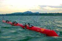 Pelamis: Una serpiente marina robótica que genera energía eléctrica