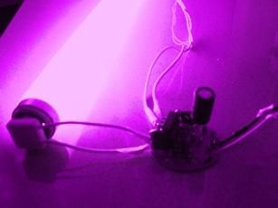 Reutilización de una lámpara de bajo consumo