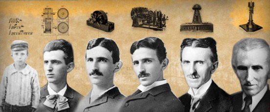 Nikola Tesla (1856-1943) había nacido en Smiljian (Croacia). Era hijo de un pope ortodoxo que pensaba orientarlo al sacerdocio.