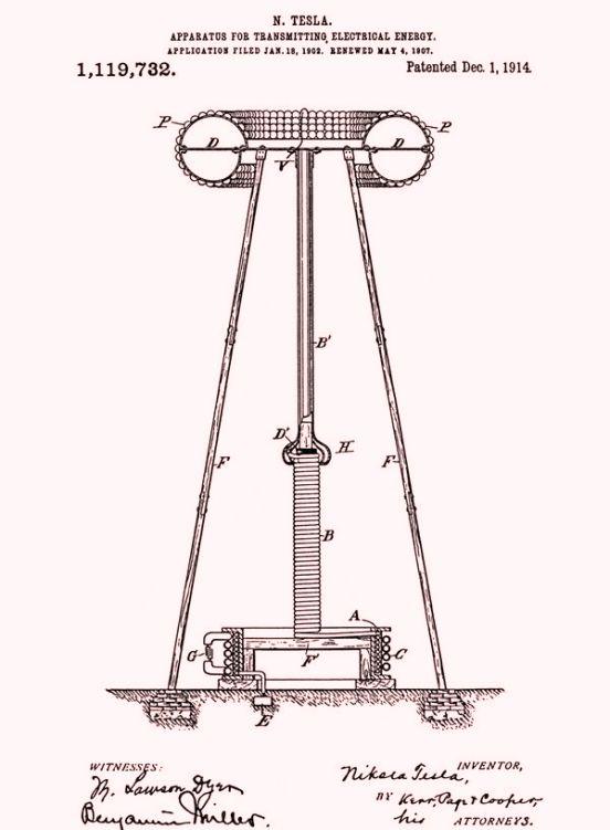 Esta vez levantó una torre de más de 50 metros, que sostenía una esfera de acero de 55 toneladas.
