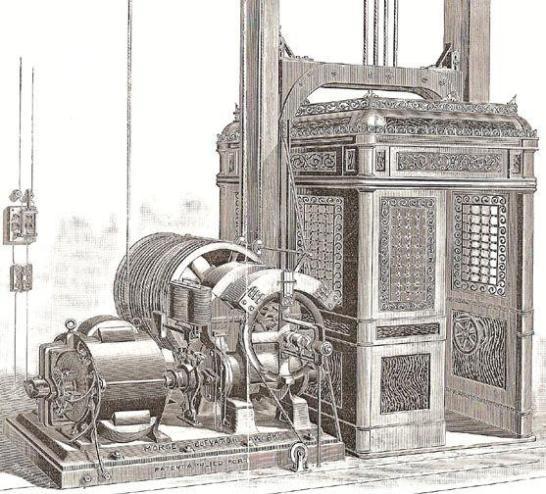 Los ascensores habrán llegado al limite del ahorro de consumo con el uso de imanes permanentes en los motores y los variadores de frecuencia.
