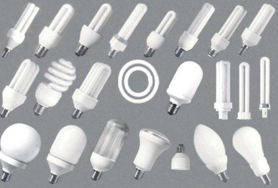 Las lámparas de bajo consumo, son una variante mejorada de los tubos fluorescentes rectos.