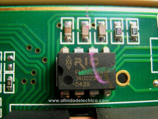 Ramtron RIC FM24C16a.