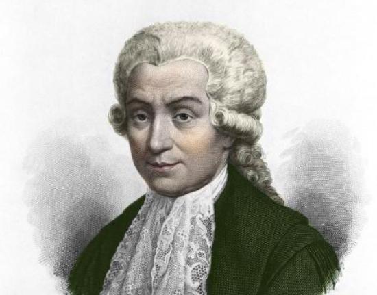 Luigi Galvani nació en Bolonia en 1737. Comenzó los estudios de teología que abandonó más tarde por los de medicina.