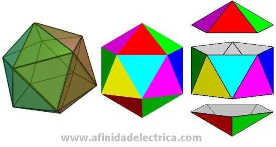 De estos requerimientos surge la idea de utilizar un poliedro y entre ellos elegimos el Icosaedro.