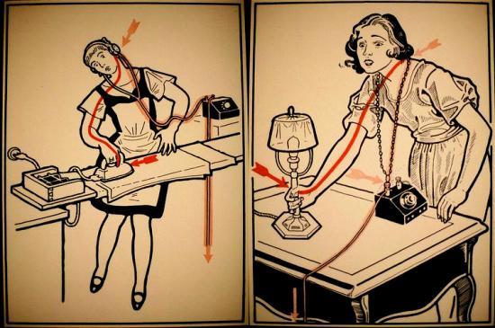 En el caso de una persona electrizada no la toque directamente.