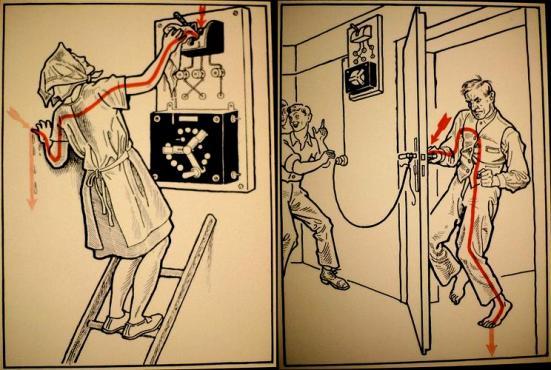La seguridad con la electricidad puede parecer a veces difícil de llevar, especialmente cuando las acciones inseguras son muy fáciles de hacer.