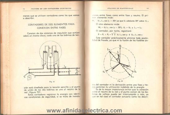 Inversión de los hilos de entrada y puesta de la bobina de corriente sobre el neutro.