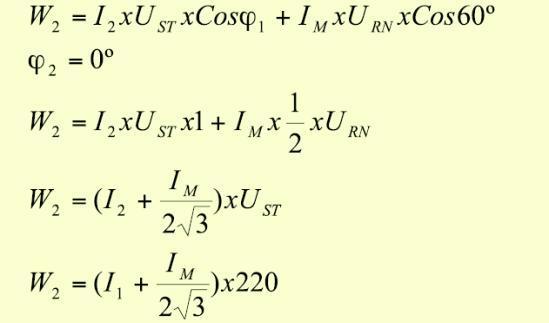 """Potencia medida por el medidor del """"usuario 2"""":"""