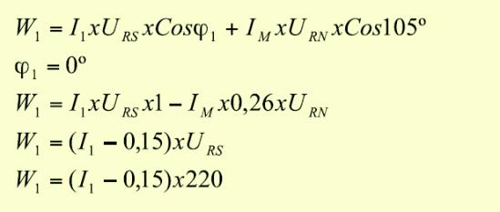 """Potencia medida por el medidor del """"usuario 1"""" es:"""