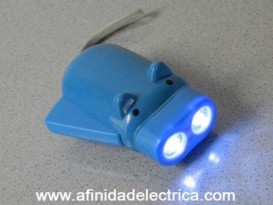 En la imagen se muestra el dispositivo con la palanca de accionamiento desplegada.