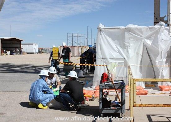 La WIPP está regulada por varias agencias, de las cuales las más importantes son el Departamento de Energía y el Departamento de Medio Ambiente de Nuevo México.