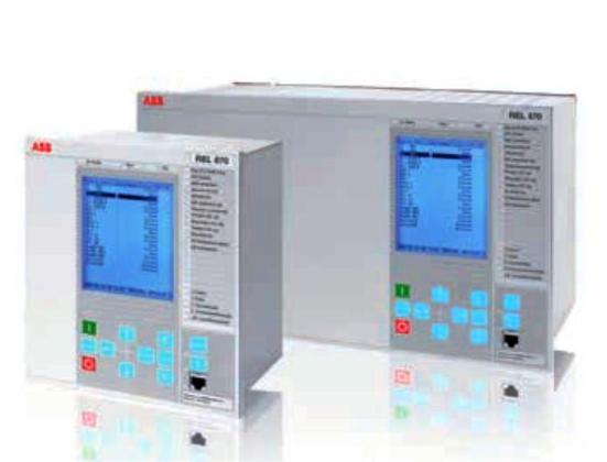 Figura 5 - Relé REL670 con comunicación IEC61850-9-2