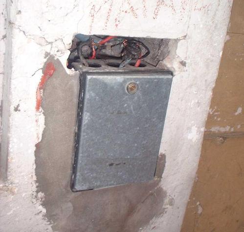 Ejemplo de un procedimiento de conexión directa.
