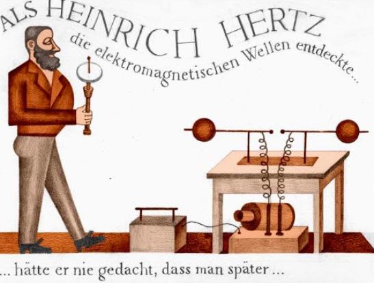 Las telecomunicaciones deben su existencia a este científico y es por ello por lo que, como homenaje, la comunidad científica dió su nombre a la unidad de frecuencia el Hertz o Hercio (Hz).