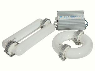 Las lámparas de inducción magnética.