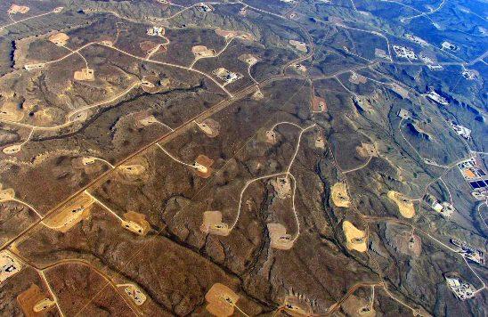 Impactos sobre el Paisaje del shale gas.