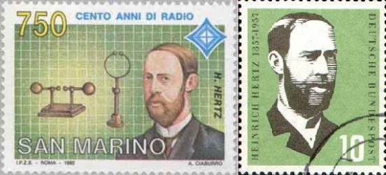 En 1889 Hertz sucedió a Rudolf Clausius como profesor de física de la universidad de Bonn en donde se dedicó, entre otros, al estudió los rayos catódicos.