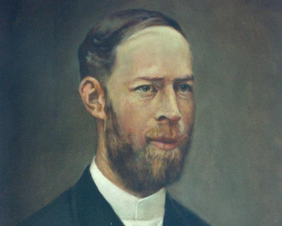 Fue uno de los más distinguidos investigadores de la segunda mitad del siglo XIX, curioso, inteligente y humilde como todos los grandes, su campo de estudio era la Física y dentro de la Física los fenómenos Electromagnéticos.