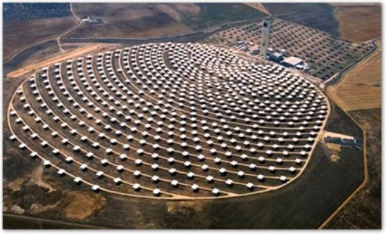 Europa podría abastecerse completamente de electricidad, mediante plantas solares térmicas instaladas en el Sahara.