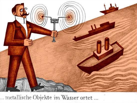 ... objetos metálicos serían localizados en el agua ...