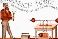 Cuando Heinrich Hertz descubrió las ondas electromagnéticas ...