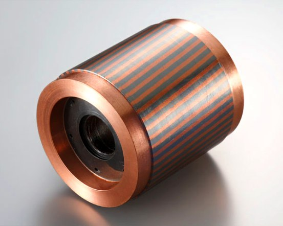 La eficiencia de los motores con rotores de cobre promedió un 90,7%, nivel que supera la de los motores producidos en la actualidad.