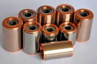 Rotor de cobre para motores eléctricos.