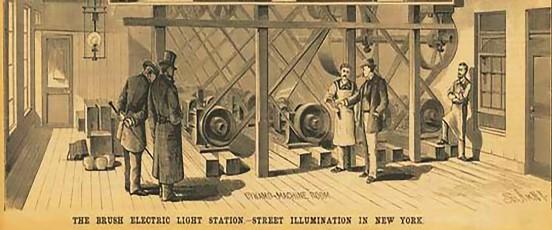Hacia 1889 tanto en América como en Europa se instalaron muchas fábricas y se comenzó a desarrollar y optimizar el consumo de la energía eléctrica.