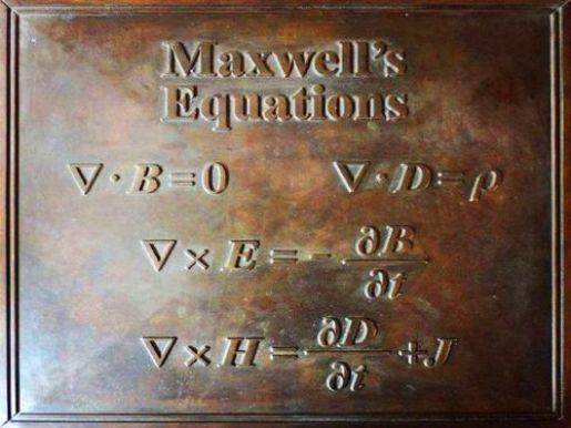 En el prefacio de su obra Treatise on Electricity and Magnetism (1873) declaró que su principal tarea consistía en justificar matemáticamente conceptos físicos descritos hasta ese momento de forma únicamente cualitativa, como las leyes de la inducción electromagnética y de los campos de fuerza, enunciadas por Michael Faraday.