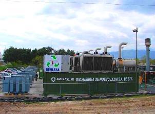 Una planta de biogás producirá toda la energía del metro de Monterrey, México