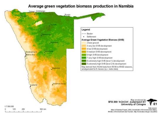 África posee un enorme potencial para la producción de fuentes de energía alternativa.