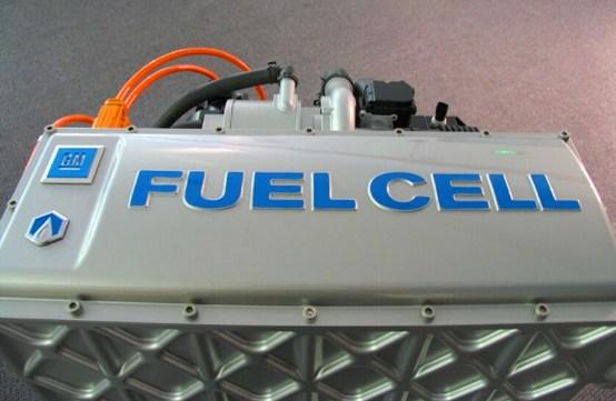 El catalizador es áspero y poroso para ofrecer la máxima superficie de platino a las moléculas de oxígeno e hidrógeno.