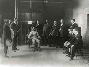La electrocución: Historia de la silla eléctrica.