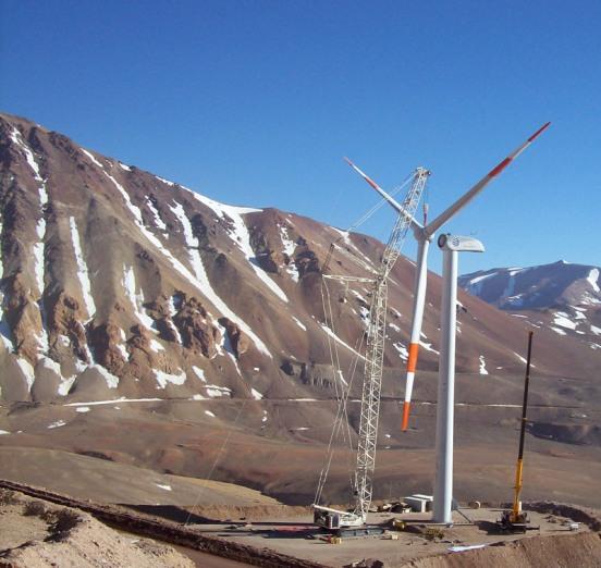 Argentina figura en el puesto número 40 de esa tabla preparada por la Asociación Mundial de Energía Eólica, por debajo de los pequeños Estonia y Luxemburgo.